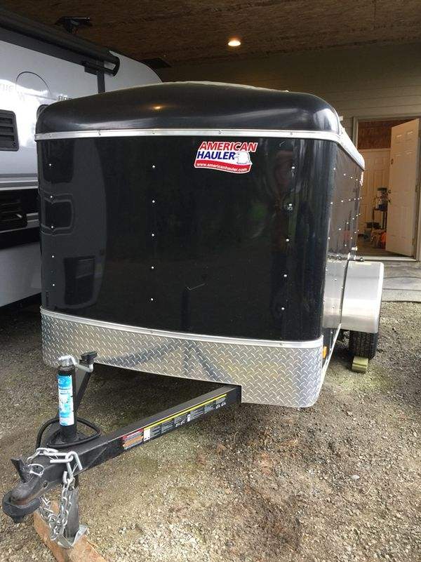 2017 5x10 Enclosed Cargo Trailer With Ramp Door For Sale In Centralia WA
