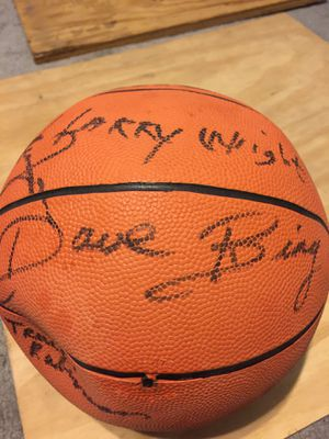 Signed Basketball by Hall of Famers for Sale in Jefferson, MD