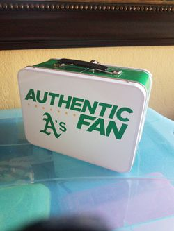 Oakland A's Authentic Fan Lunch Box Thumbnail
