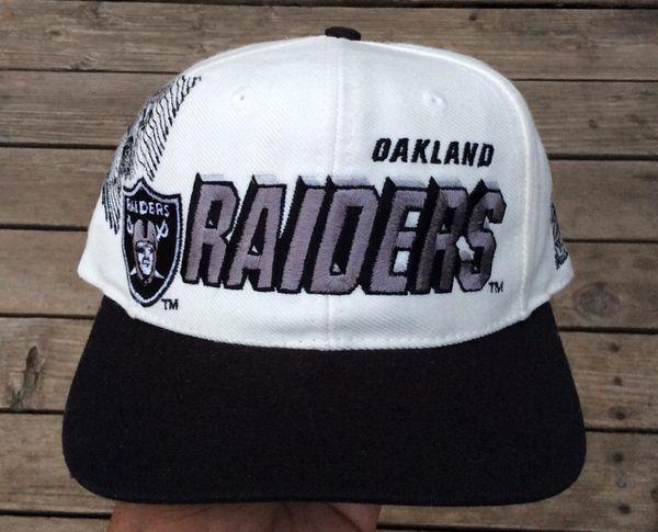 Oakland Raiders Snapback Hat Vintage 90 s NFL for Sale in San Jose ... c05f386832d