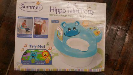 Brand new hippo potty chair Thumbnail