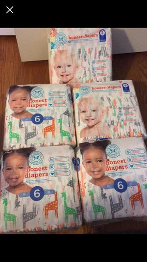 Honest Diapers Size 6 for Sale in Silver Spring, MD
