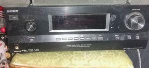 Photo Sony 5 Channel 500 Watt AV Receiver STR DH500 Digital Audio Video Control Center And six speckers