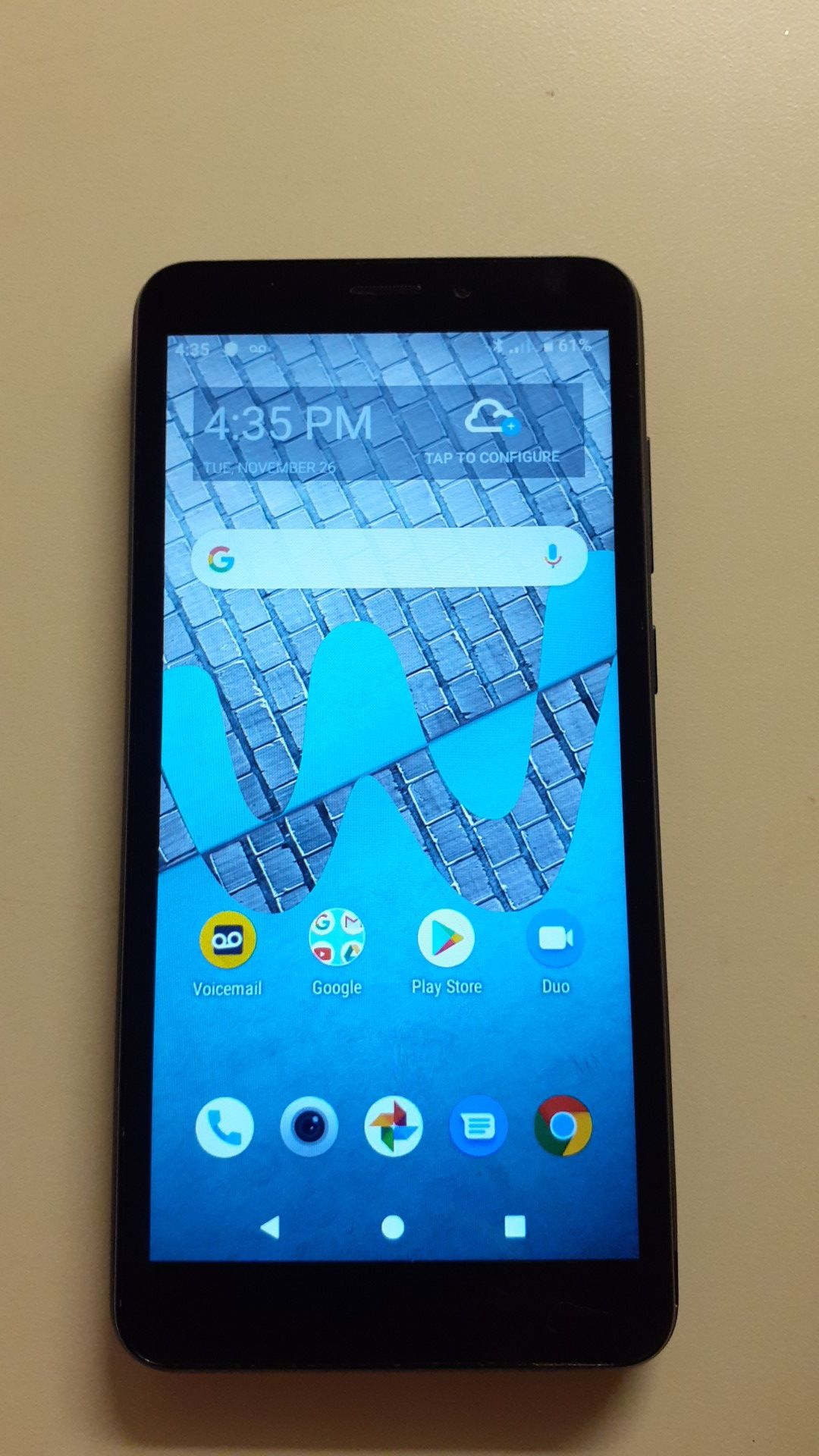 Wiko model android phone