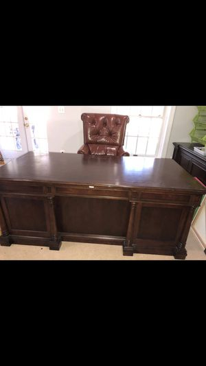 Office desk. Very clean and looking for best offer.price is mrgotiable for Sale in Vienna, VA