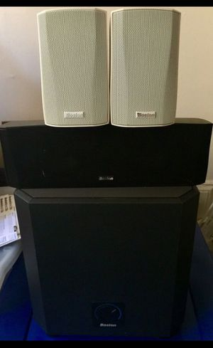 Boston speakers and subwoofer for Sale in Boston, MA