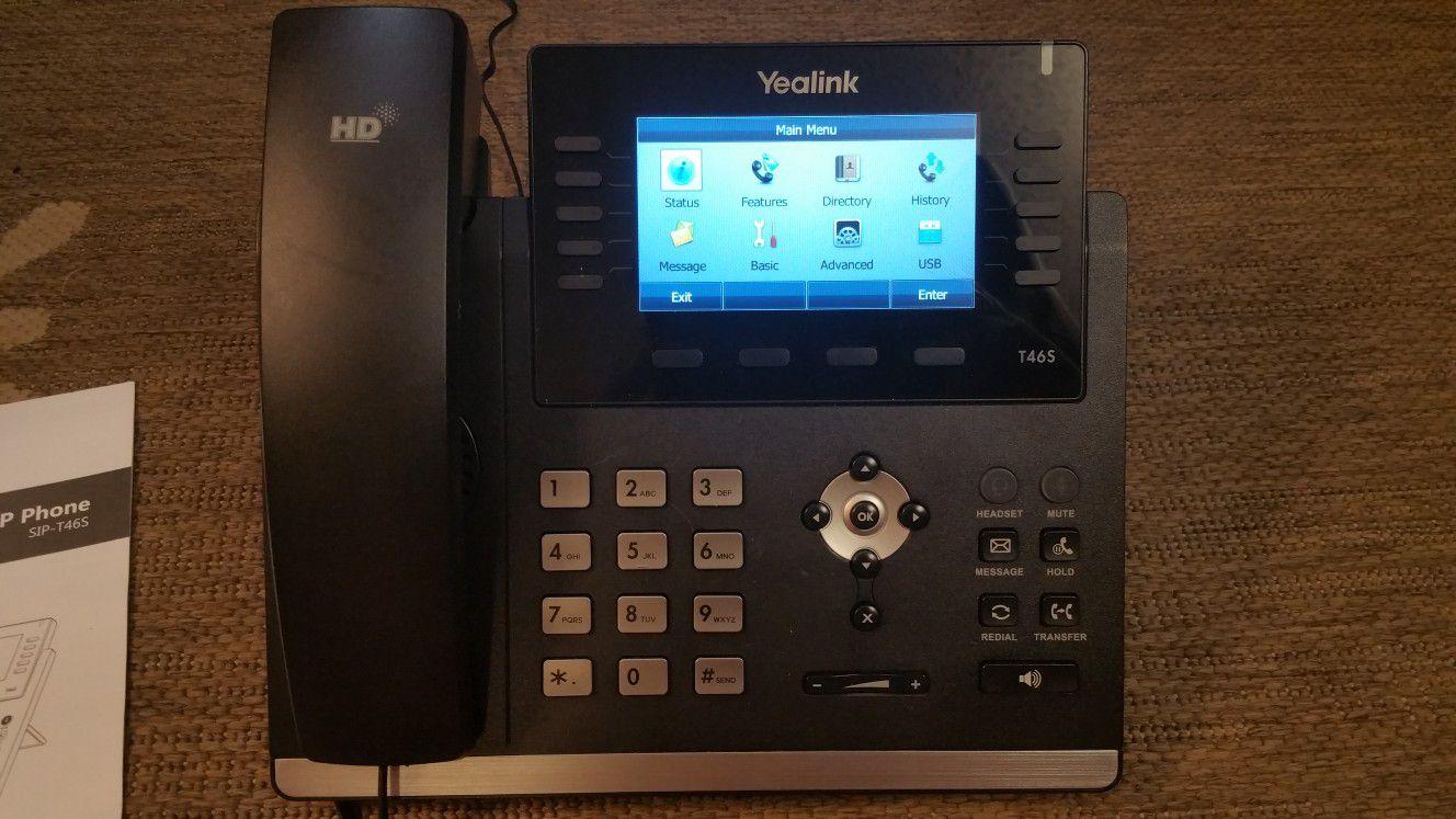 Phone Yealink T46S VoIP Ultra-elegant SIP-T46S