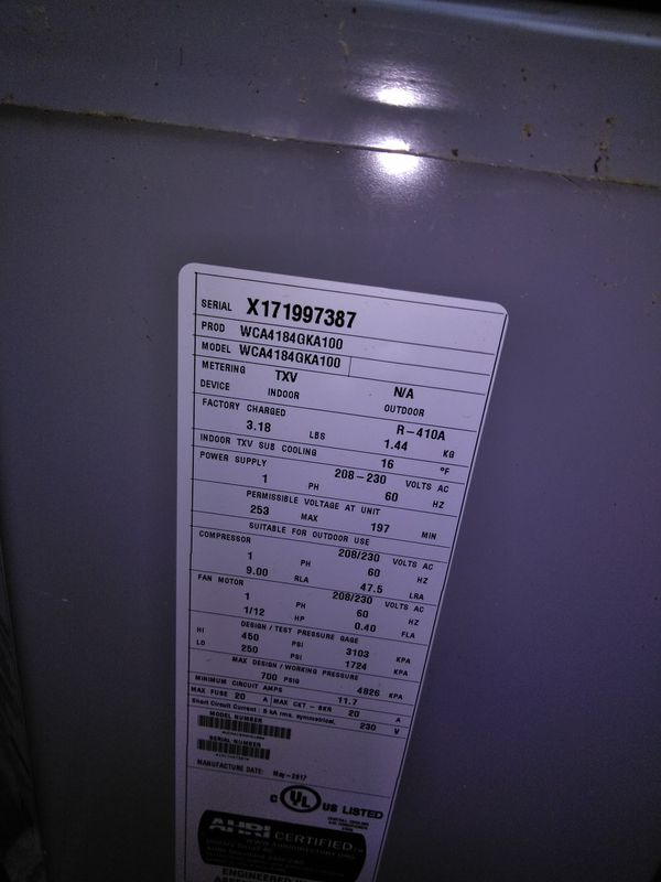 2 ton ac condenser r22 refrigerant for Sale in Smyrna, GA - OfferUp