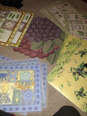 Assorted placemats for Sale in Hemet, CA
