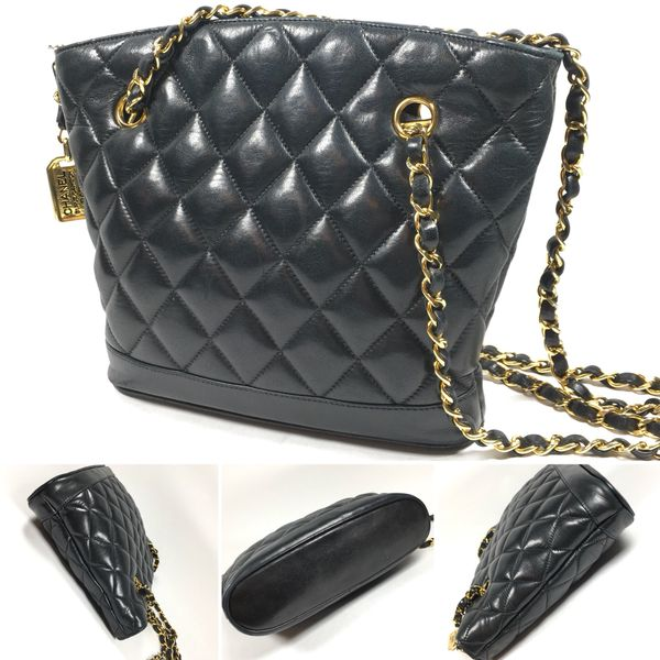 19d6ed379f0c Authentic Chanel Quilted Lambskin Leather Bag for Sale in New York ...
