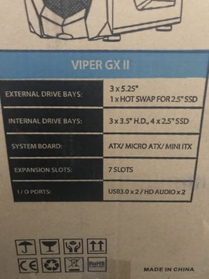 Computer TOWER for sale specs in pic price negotiable if picked up for Sale in Los Angeles, CA