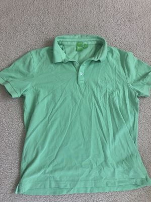 Hugo Boss Green Polo Shirt Size Medium for Sale in Washington, DC