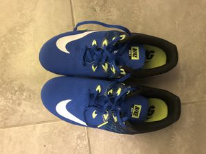 Boys size 7.5 track cleats - brand new (never worn) for Sale in Baltimore, MD