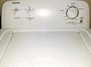 Photo Used Admiral 3.6 cu.ft. Top Load White Washer Machine