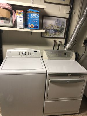 Kenmore and Whirlpool Washer and Dryer for Sale in Centreville, VA