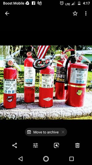 FIRE EXTINGUISHERS, CLASS A, B, & C for Sale in Ocala, FL