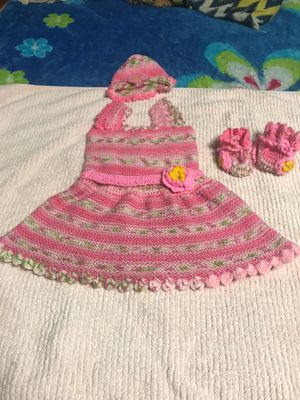 baby dress size. 6-12 months new for Sale in Nashville, TN