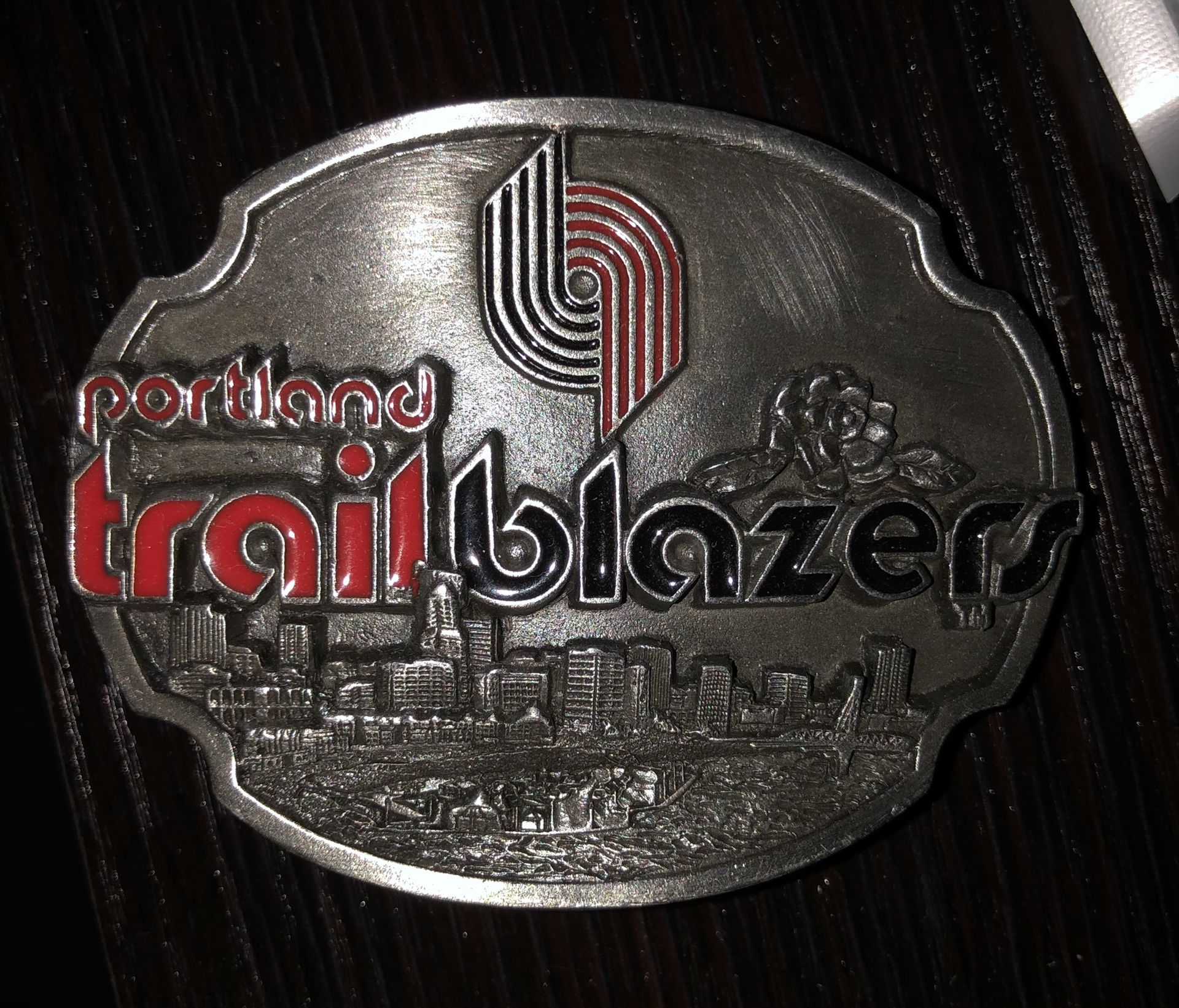 Portland Trail Blazers belt buckle NEW!!