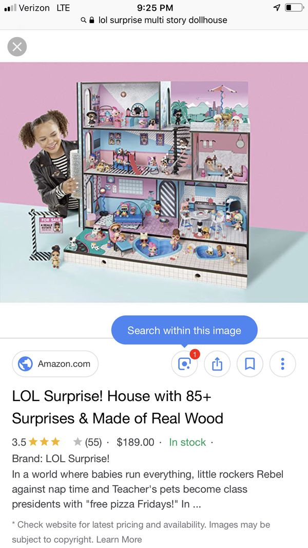 Lol Surprise Doll House For Sale In Londonderry Nh Offerup