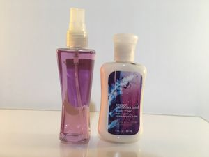 Bath & Body Works Secret Wonderland Fragrance Mist & Body Lotion for Sale in Fairfax, VA