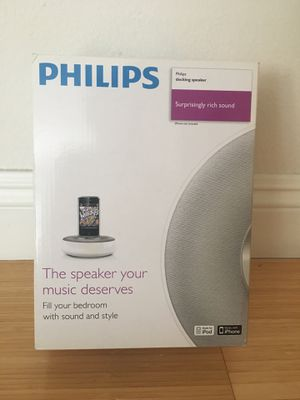Philips Docking Speaker (Apple 30-pin connector) for Sale in Los Angeles, CA
