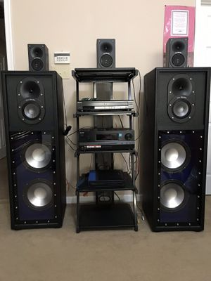 Pro studio stereo system for Sale in Frederick, MD