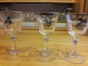 Collectables cocktail glasses from 1960's for Sale in Tempe, AZ
