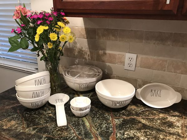 Rae Dunn Mixing Bowls And Kitchen Essentials 11 Pieces