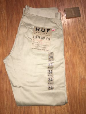 Huf Selvedge Pants Brand New Mens Size 34 for Sale in Tucson, AZ