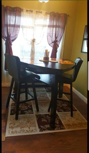 4 Pieces Dining Triangle Table Set For Sale In Fayetteville NC