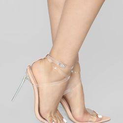 Fashion Nova Nude Heels Thumbnail