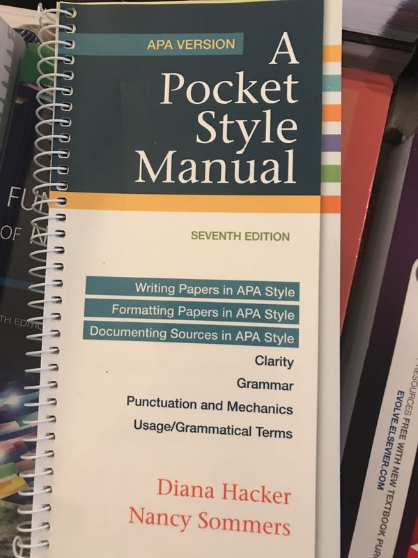 A Pocket Style Manual 7th Edition For Sale In Miami Fl Offerup