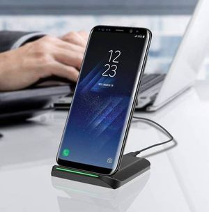 Brand new in box-- Fast charging Qi Wireless Charging Pad for Samsung, others for Sale in Centreville, VA