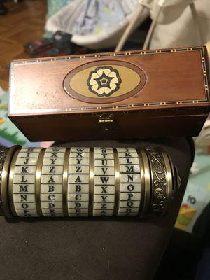 DaVinci Code Cryptex for Sale in Arlington, VA