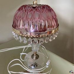 Vintage Pink Lamp Thumbnail