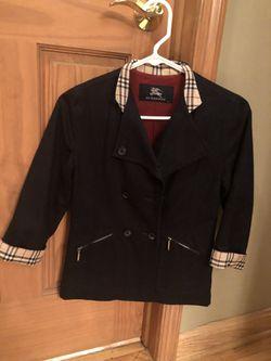 Boys Burberry sports coat Thumbnail