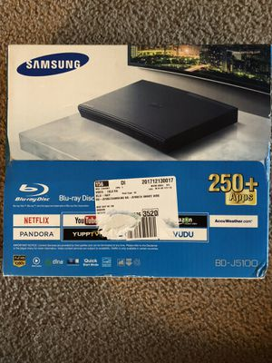 Samsung Blu-Ray/DVD player (BD-J5100) for Sale in Frederick, MD