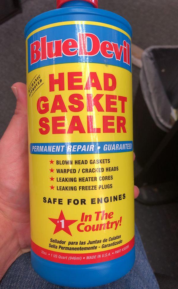 Blue devil head gasket sealer for Sale in Honolulu, HI - OfferUp