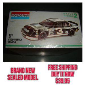Photo 1:24 Scale DALE EARNHARDT SR. Chevy Lumina NASCAR MODEL ( SEALED NOS ) monogram