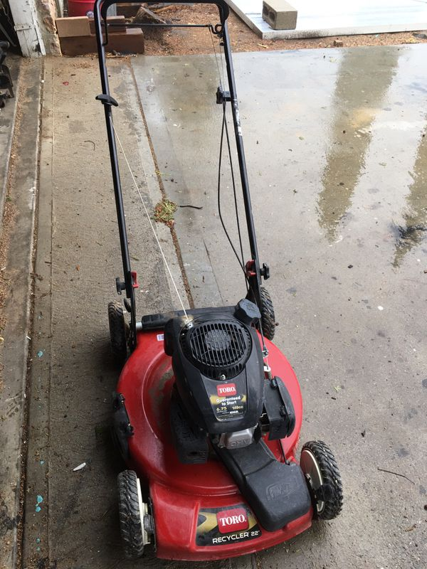 Toro 22 Recycler Mower For Sale In Yucca Valley Ca Offerup