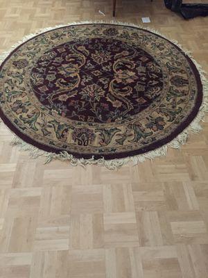 Round rug for Sale in Gaithersburg, MD
