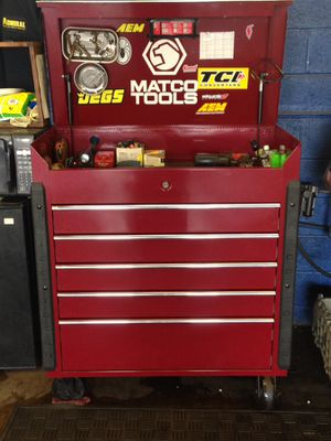 Matco tool box with tools for Sale in Harwood, MD