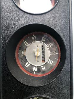71  Volkswagen BUS INSTRUMENT PANEL cluster gas gauge speedometer 1970 Thumbnail