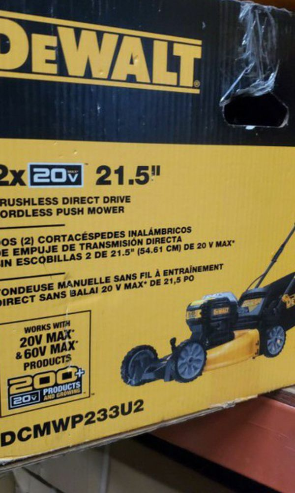 DEWALT 20V MAX XR BRUSHLEES LAWN MOWER TOOL ONLY BRAND NEW