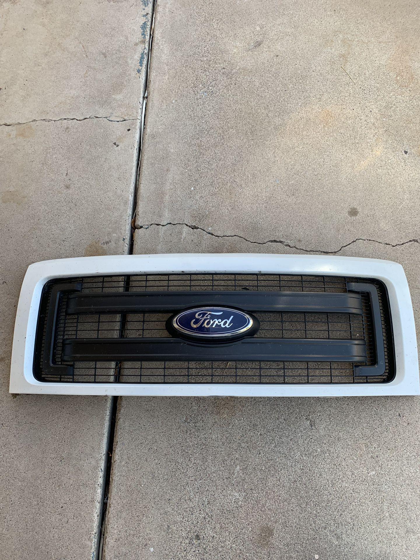 Parrilla de Ford 2013/14