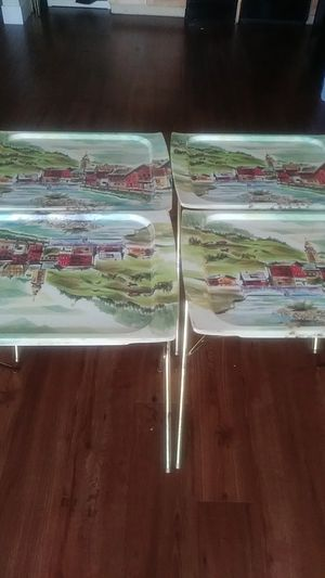 Vintage TV Trays for Sale in St. Louis, MO