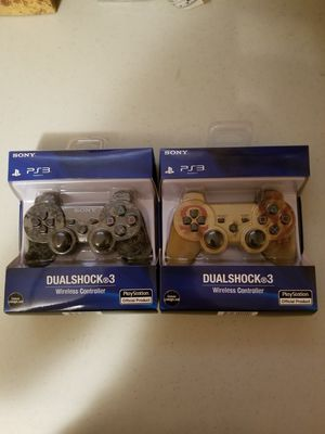 2 ps3 WIRELESS CONTROLLERS for Sale in West Fargo, ND