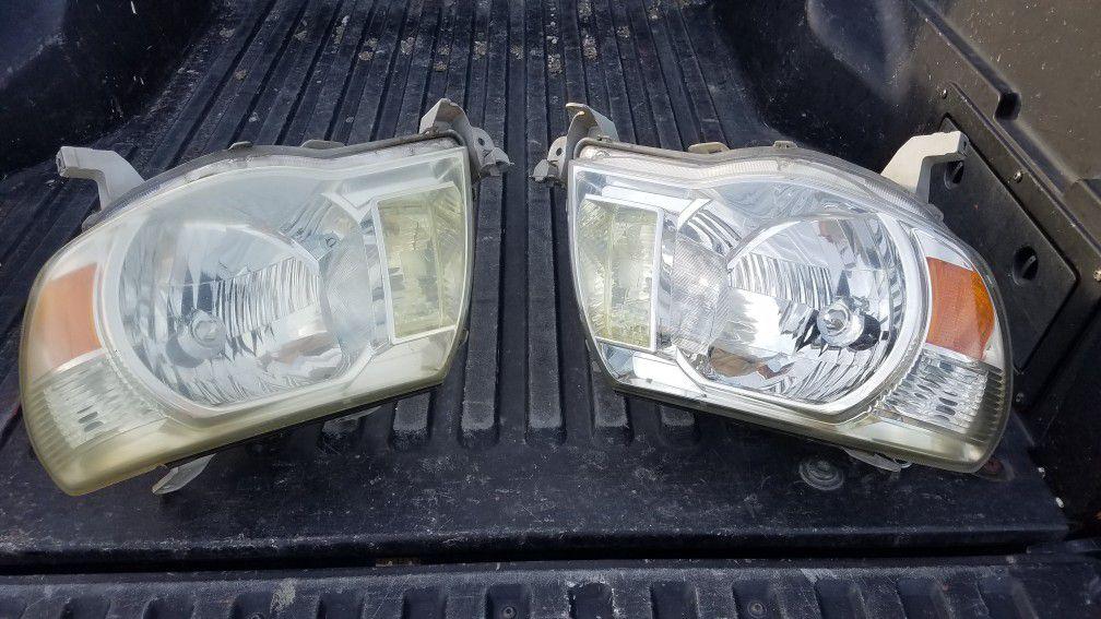 Tacoma 06 headlights