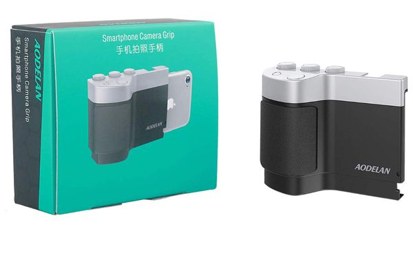 cheaper 621e5 ee0c6 Smartphone Camera Grip, Shutter, Zoom, Exposure/ISO Adjustment Compatible  for iPhone 4s, 5, 5s, 5c, 6, 6s, 7, 8, Intelligent APP Controls for Sale in  ...