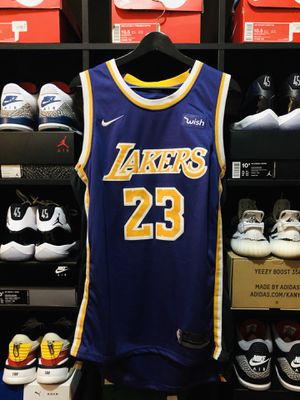 "hot sale online 93597 b95c8 NIKE LEBRON JAMES LAKERS ""STATEMENT"" SWINGMAN JERSEY for Sale in Tracy, CA  - OfferUp"